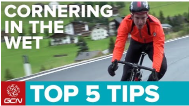 GCN Cornering Wet Weather