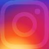 Instagram logo with hyperlink
