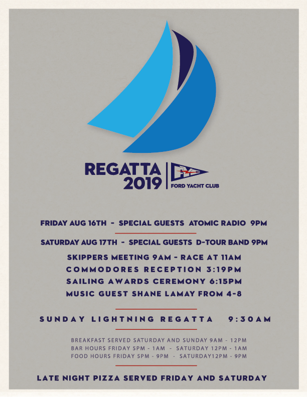 2019 regatta flyer