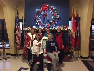 This year the children of members and employees had a great time visiting with Santa.
