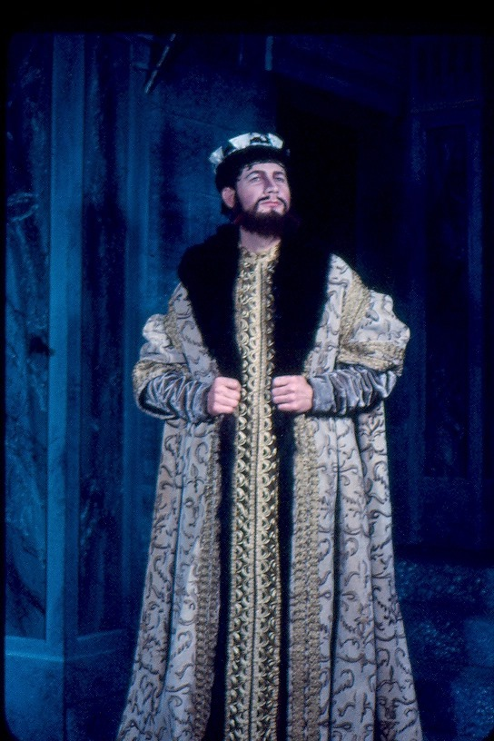 Clyde Vinson as Vincentio in Measure for Measure