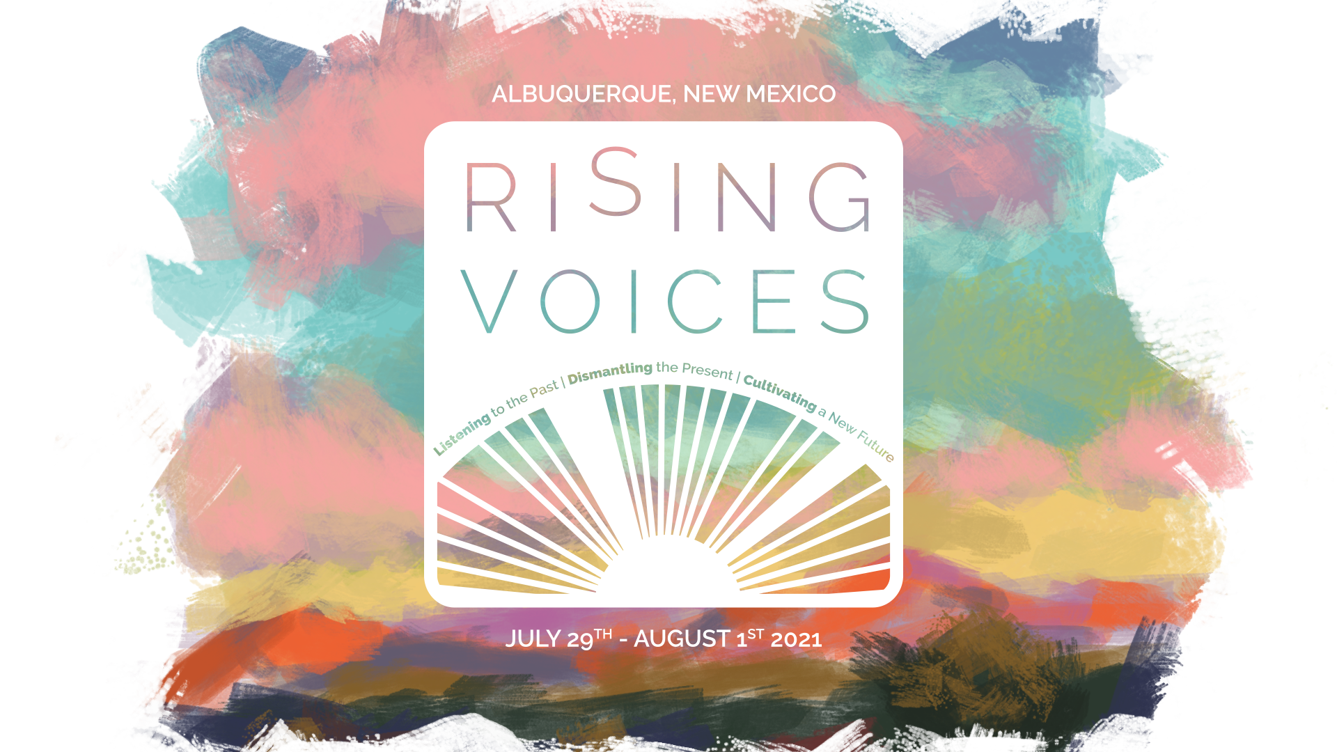 Rising Voices Logo VASTA 2021