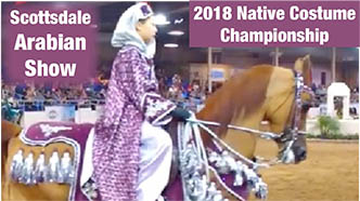 Scottsdale Arabian Finals 2018 Costume