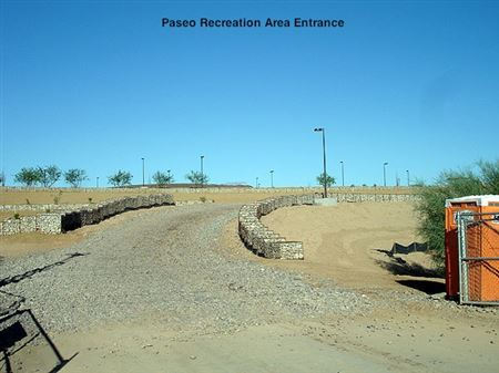 First days of the building of the Paseo Archery Range