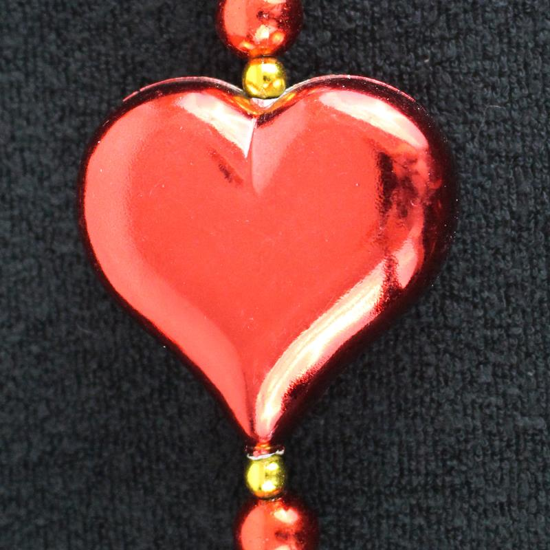 "42"" Large Heart Bead"