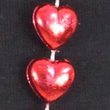 15mm x 48in Red Heart Beads - click to view details
