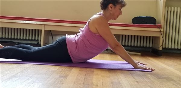 Yoga Class - July 31 with teacher Lillian Rozin