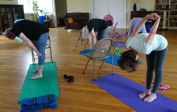 Yoga Classes are held twice weekly at the Church of the Good Shepherd, The Oak Road.