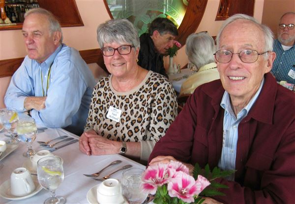 EFV Volunteers were honored at a luncheon April 17, 2017, at Cin Cin restaurant.
