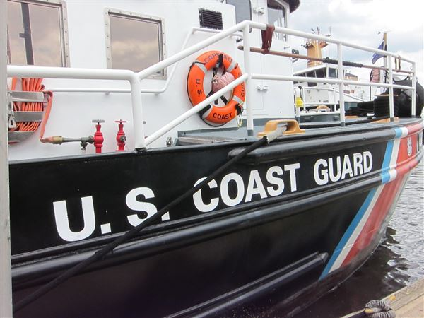 East Falls Villagers visited the U.S. Coast Guard station Monday June 19, 2017.