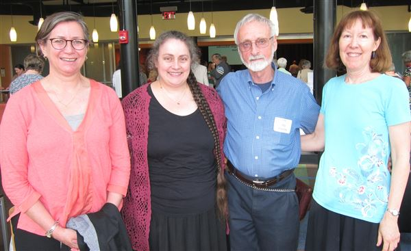 More than 120 members and guests celebrated the Fifth Anniversary of East Falls Village on June 4 at Philadelphia University's Kanbar Center.
