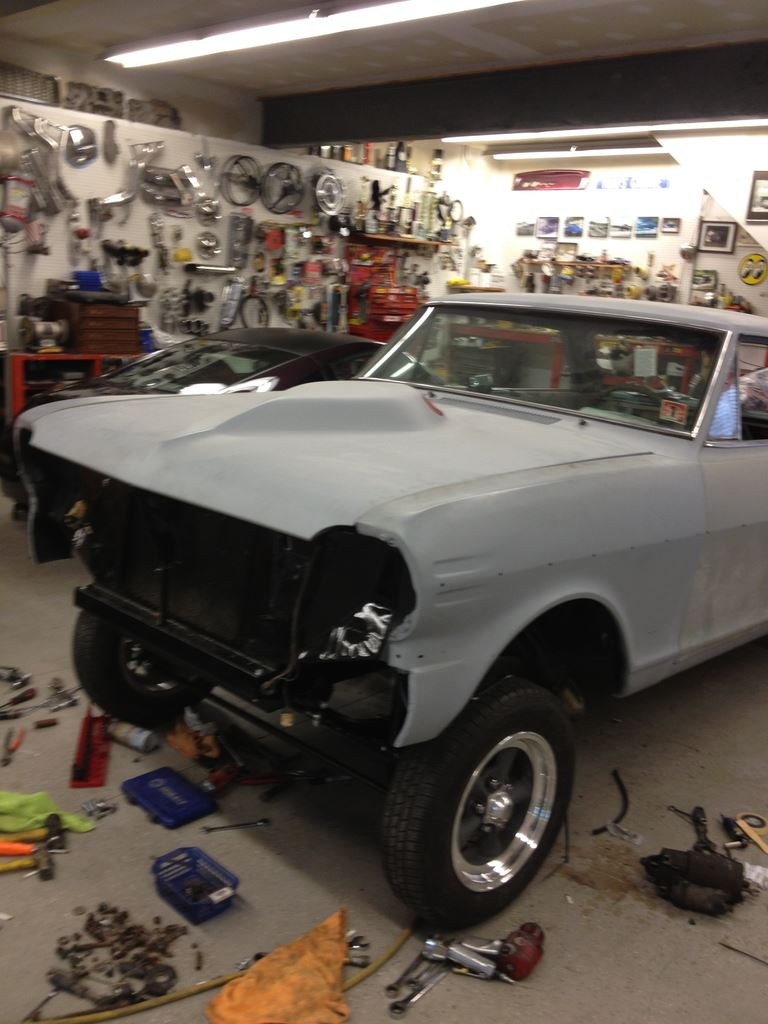 64 Chevy II B/Gas
