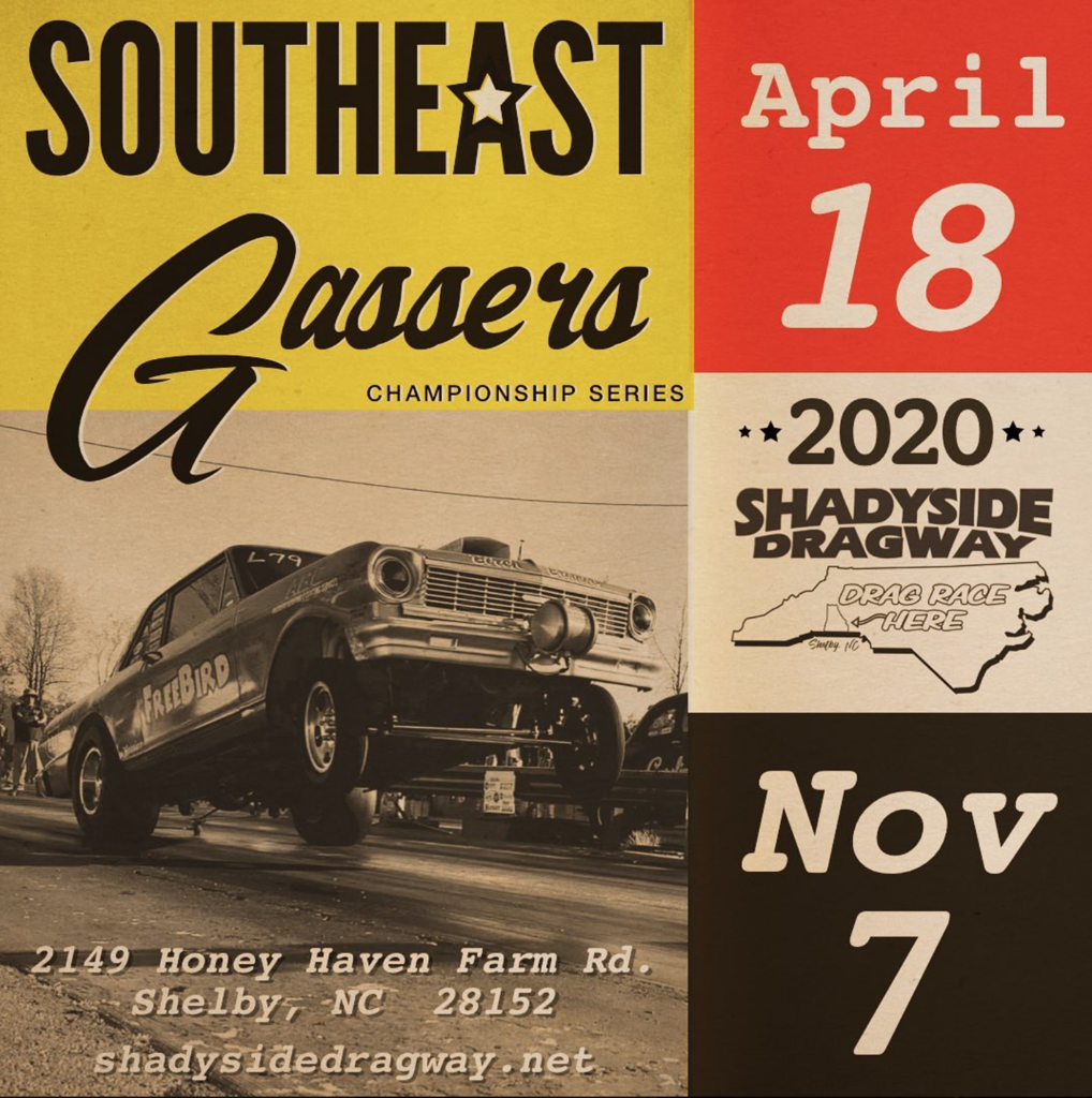SHADYSIDE DRAGWAY 2020