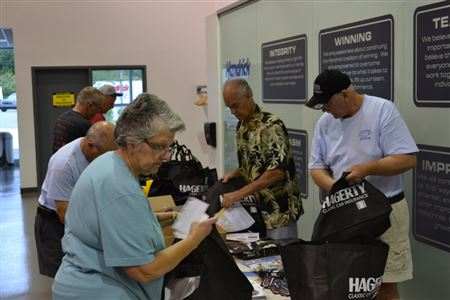 Photos form the 9th annual CCA show at Hendrick Motorsports