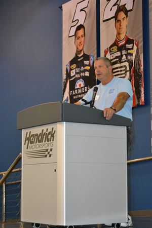 Photos of the class winners at the 9th annual show at Hendrick Motorsports.