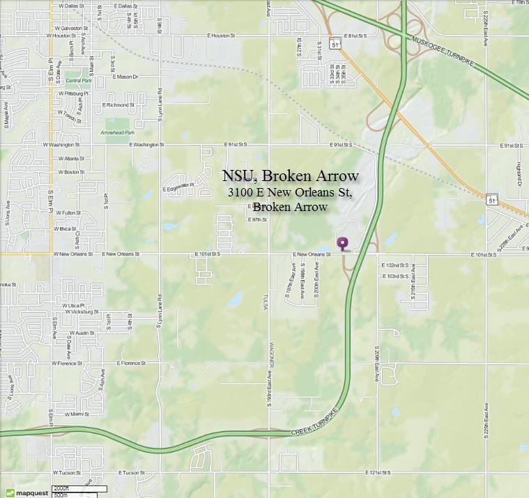 Maps - NSU - Tulsa Bicycle Club