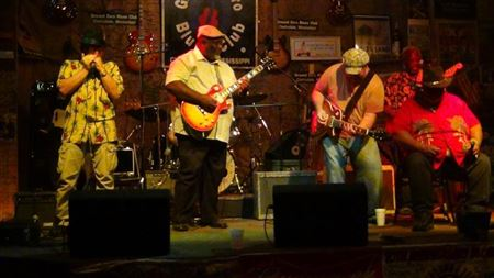 Photos taken at the various Memphis Blues Society Jam Sessions