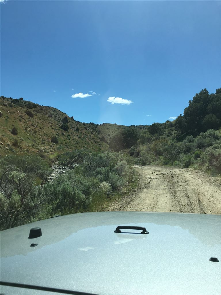 May 13th Trail Run From Brunswick Canyon to Sunrise Pass Road to El Dorado Canyon