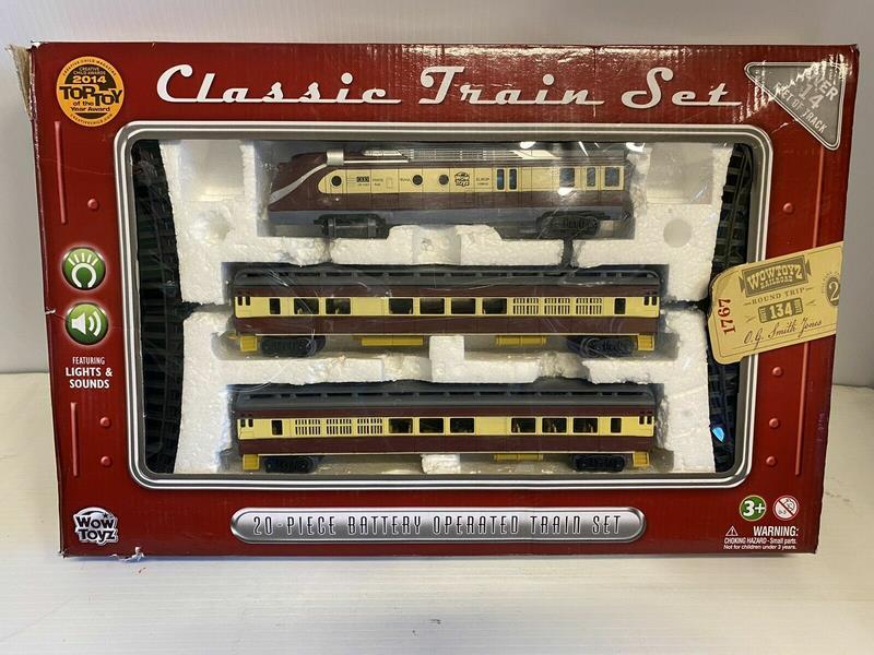 Toy, Classic Train Set, 20-Piece