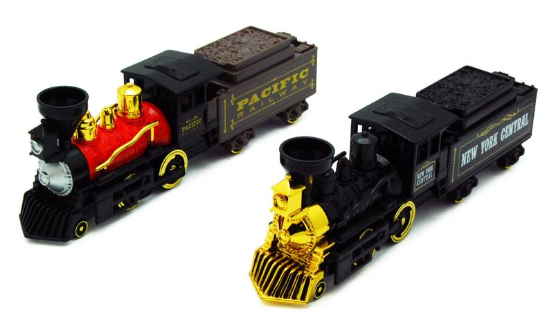 Toy, Steam Engine-Tender Pull Back