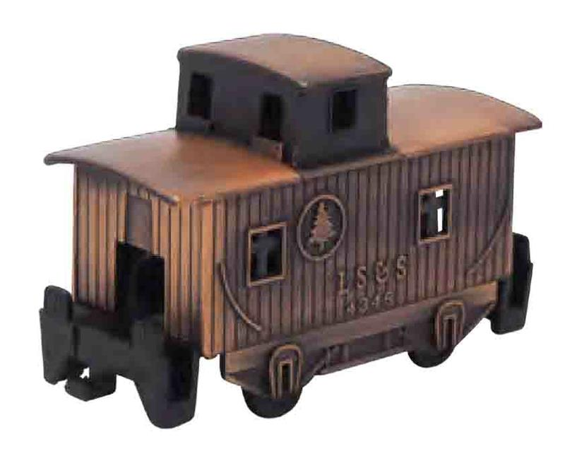 Collectible, Pencil Sharpener, Caboose, Bronze,