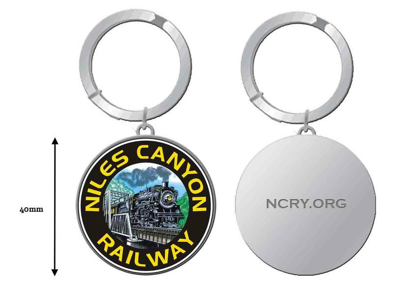 Collectible, Key Chain, 40mm, NCRy Bridge Logo