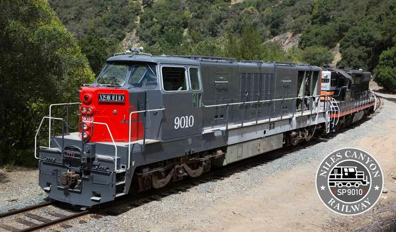 Magnet, photo, Southern Pacific 9010