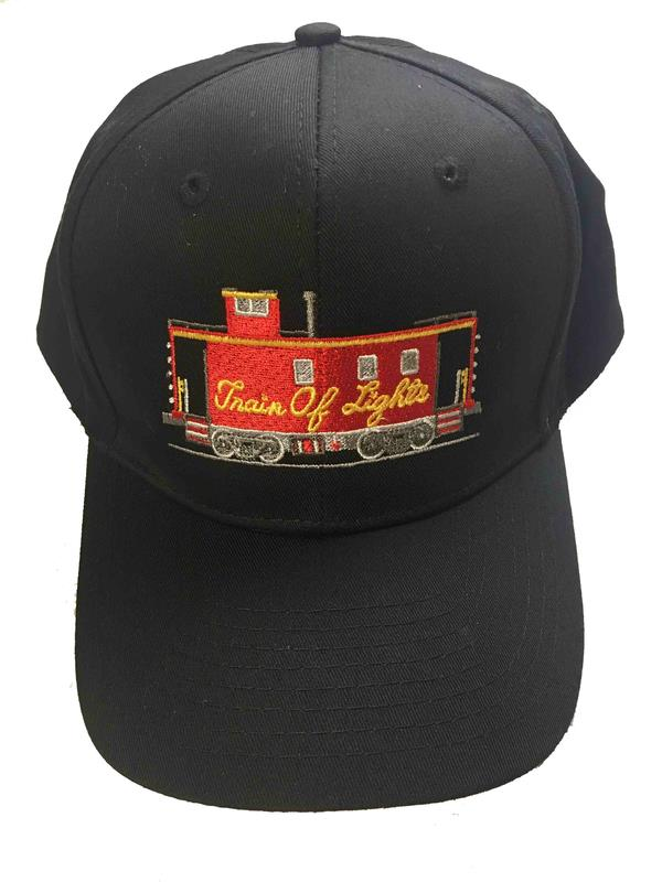 Cap, Black TOL embroidered caboose