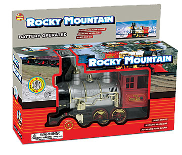 Toy, Rocky Mtn Junior Bump N Go