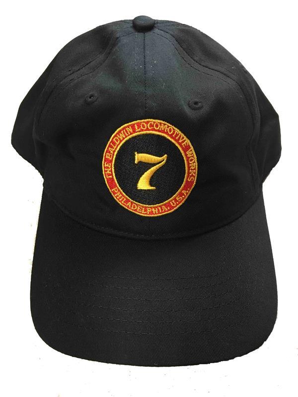 Cap, Black, Steam Engine #7, Skookum