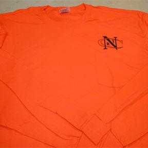 Shirt A, Pocket, NCRY Orange, long sleeve