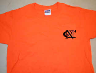 Shirt A, Pocket, NCRY Orange, short sleeve
