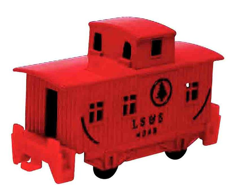 Collectible, Pencil Sharpener, Caboose, Red