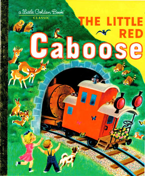 Book, Children's, The Little Red Caboose