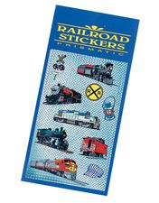 Collectable, 3D Prismatic Railroad Stickers - click to view details