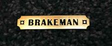 Pin, Trainmen Emblem, Brakeman - click to view details