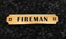Pin, Trainmen Emblem, Fireman - click to view details