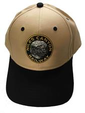 Cap, Khaki with NCRY Logo, Black Bill - click to view details