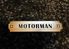 Pin, Trainmen Emblem, Motorman - click to view details