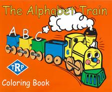 Book, Children's, The Alphabet Train Coloring Book - click to view details