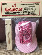 Cap, Lil Engineer Kit Pink - click to view details