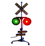 Collectible, Railroad Crossing Lamp