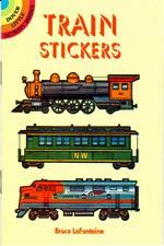 Booklet, Children's, Train Stickers - click to view details