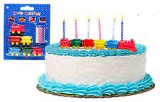 Collectible, Train Birthday Cake Candle Set - click to view details