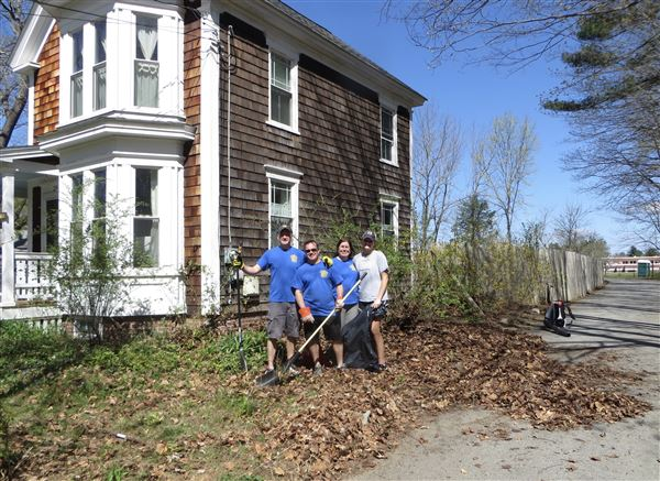 May 5th spring clean-up in collaboration with Groton-Pepperell Rotary