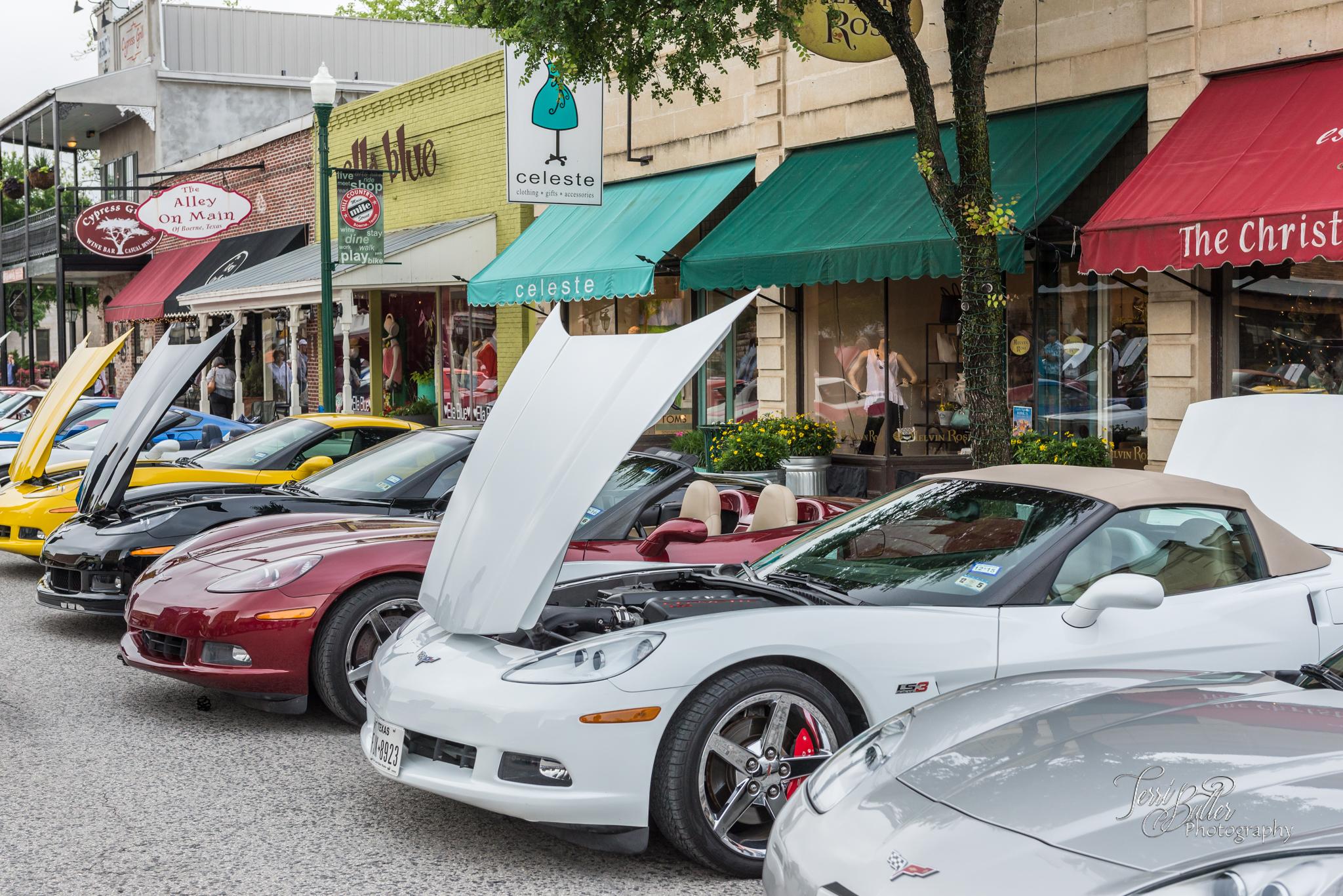 Our Annual Charity Car Show - Texas Corvette Association