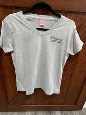 Ladies V-neck Tshirt - click to view details