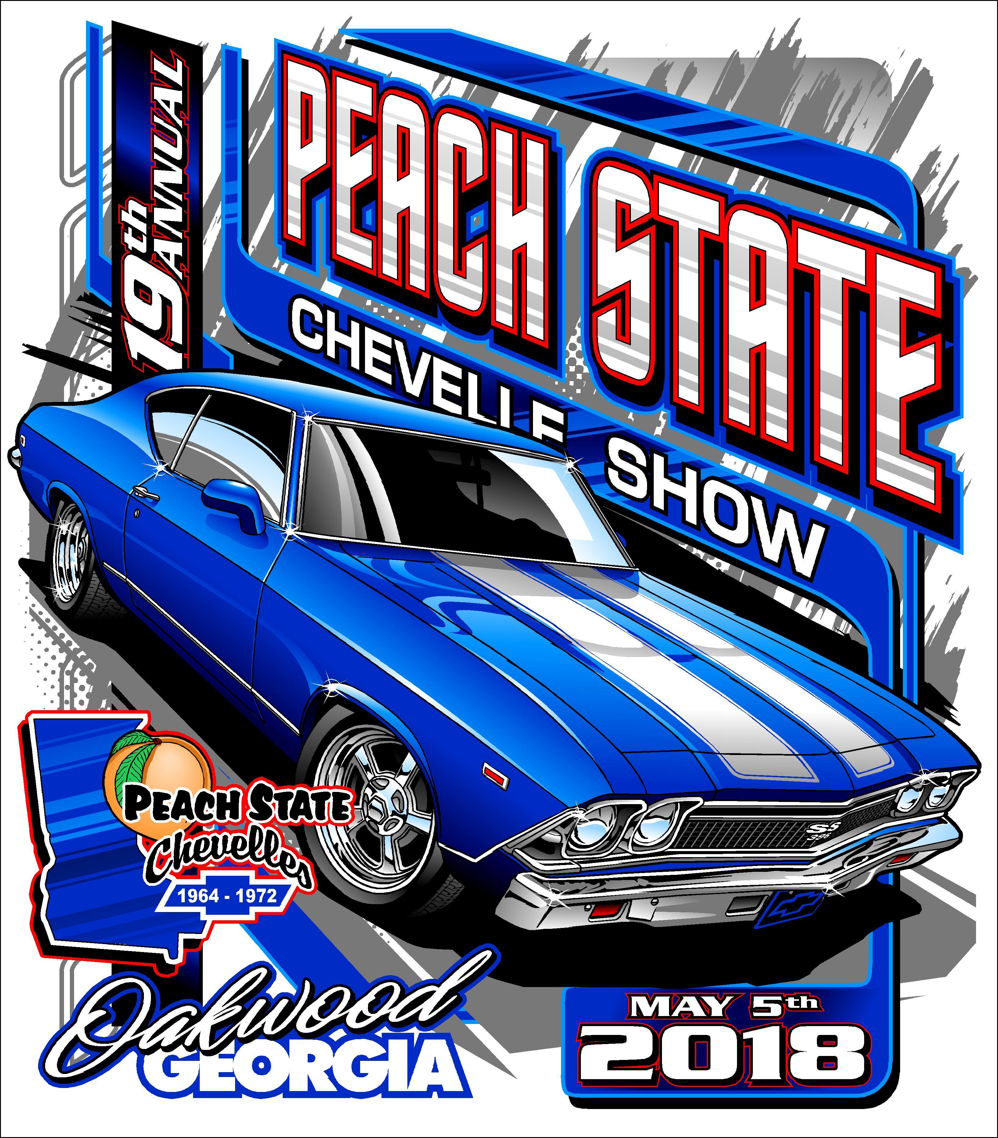 Peach State Chevelle Show Peach State Chevelles