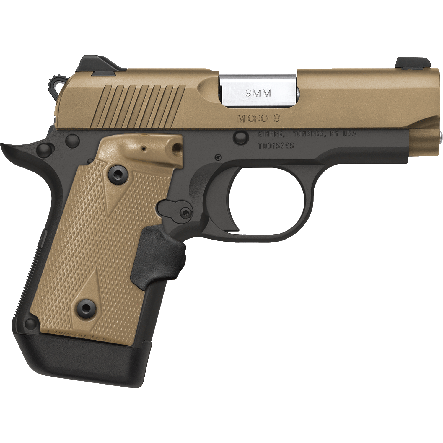 2020 Fifth Place - Kimber Micro 9mm NRA Desert Tan