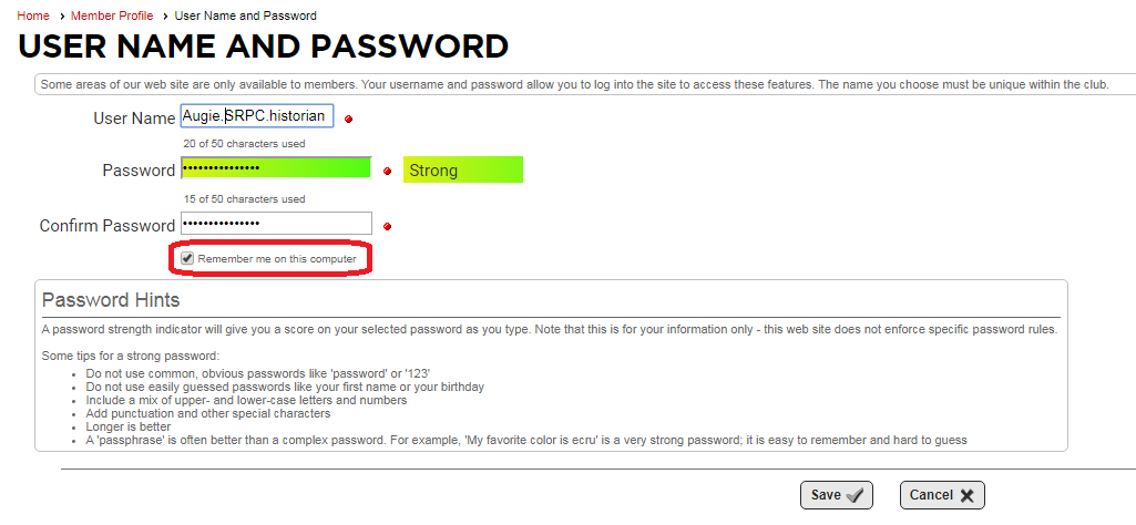 Reset Password Step 5b